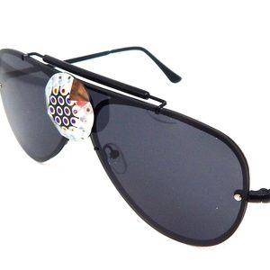PANTHER POWER BLACK TIGER EYE AVIATOR GLASSES NEW